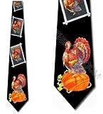 Turkey Ties Thanksgiving Neckties Mens