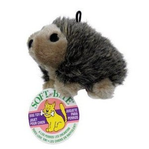 Plush Hedgehog 6 in., with squeaker, My Pet Supplies