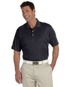 - adidas Men's Climalite Basic Short-Sleeve Golf Polo-Black-XL