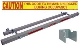 Exit Security Bar Sb 01 0032 For 32 Door Width Door Closers Amazon Com