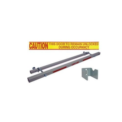 Exit Security Bar SB-01-0032, for 32'' Door Width by Exit Security Inc