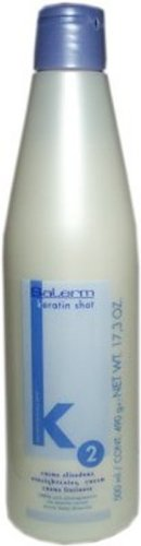 Salerm Keratin Shot 2 Straightening Cream 17.3oz/500ml Big sale!!
