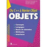 img - for OBJETS - Du C++   Merise Objet book / textbook / text book