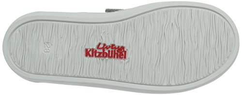 Living Kitzbühel Slip-on Applikation - Zapatillas de casa Unisex niños Gris (Hellgrau)