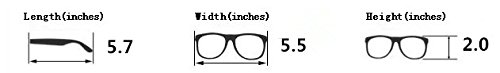 5zero1 Fake Glasses Big Frame Nerd Party Men Women Fashion Classic Retro Eyeglasses