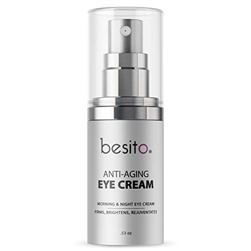 (Anti Aging Eye Cream for Dark Circles and Puffiness, Eye Bags, Crow's Feet, Fine Lines, and Sagginess)