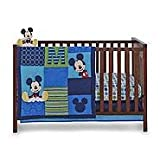 Disney Baby Infant Boy's 4-Piece Mickey Mouse Crib Bedding Set