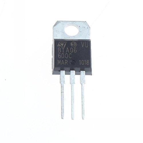 UXOXAS BTA06 Triac Switch 6A 600V TO-220(5Pcs)