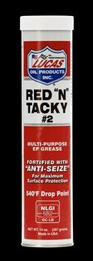 RED'N'TACKY GREASE 14OZ by LUCAS OIL CO MfrPartNo 10005-30 (Quantity 10)