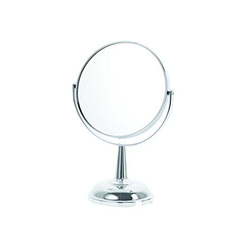 Danielle Classic Chrome 5X Magnification Dome Base Mirror, Chrome by Danielle Enterprises