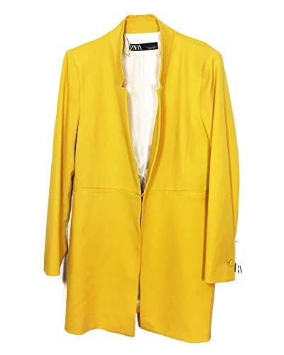 Zara Women Inverted Lapel Frock Coat 2143/293 (X-Large) for sale  Delivered anywhere in USA