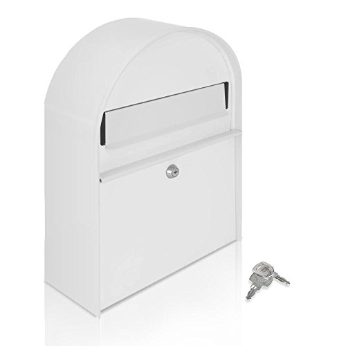 Serenelife Modern Mount Lockable Mailbox