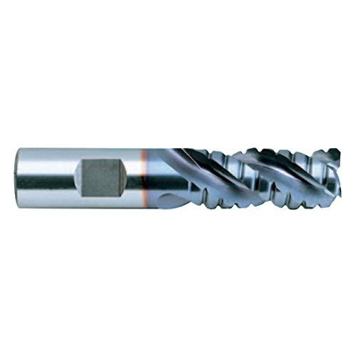 3//4 TiCN Finish Medium Length 3 Flute 4-5//8 Length 42 Degree Helix Roughing for Aluminum YG-1 80903 PC HSS Speed Freek Corner Radius End Mill T15