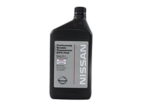 Nissan Genuine Fluid (999MP-NS300P) NS-3 Continuously Variable Transmission Fluid - 1 Quart by Nissan