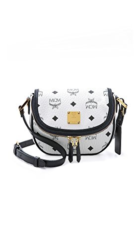 MCM Mini Cross White Bag Women's Body rzpFr6
