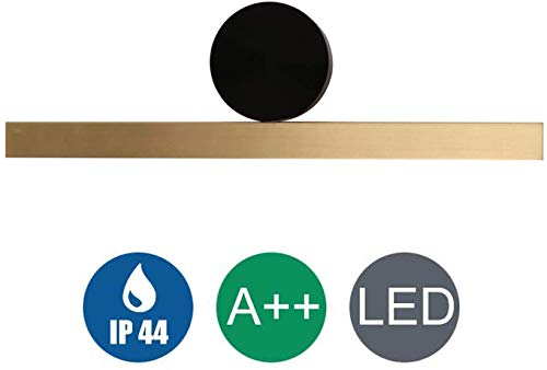 WQ Metal Wall Lamp, with Pivotable Mirror Light LED, Aluminum Lamp Body, -