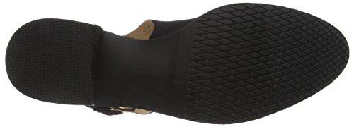 Giudecca Damen Jy14044-2 Chelsea Boots Schwarz (nero)