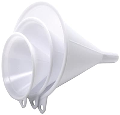 Norpro 243 3-Piece Plastic Funnel Set