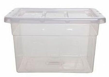 Spacemaster 1 Litre small Plastic Storage Box
