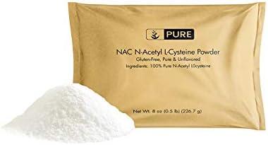 100 Pure NAC N-Acetyl L-Cysteine Powder