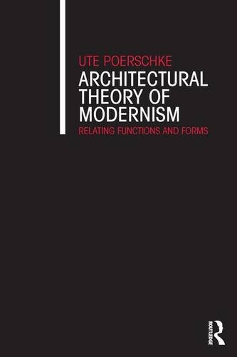 Architectural Theory of Modernism: Relating Functions and Forms