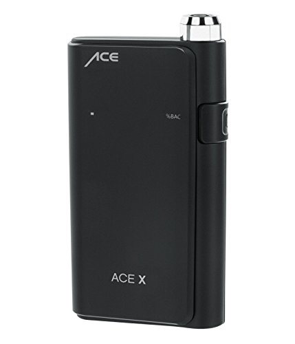 ACE X Portable Breathalyzer Professional Grade Fuel Cell with Digital Display and 5 Mouthpieces by ACE Instruments (Image #3)