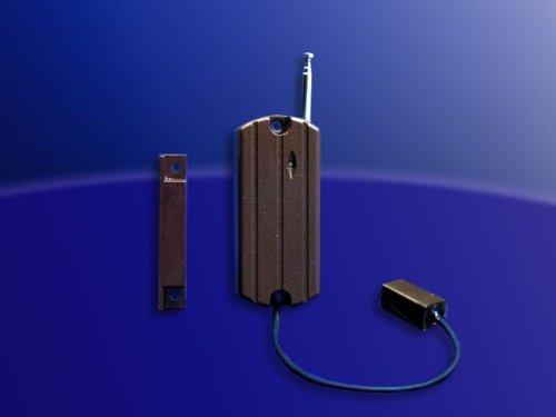 Fensterkontakt/Glasbruch Kombisensor (braun) für AS-9 / AW-100/2 / Eukos F / Eukos GSM +