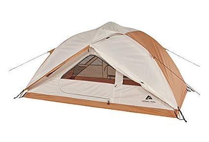 185 & Ozark Trail 4-Season 2-Person Hiker Tent (orange)