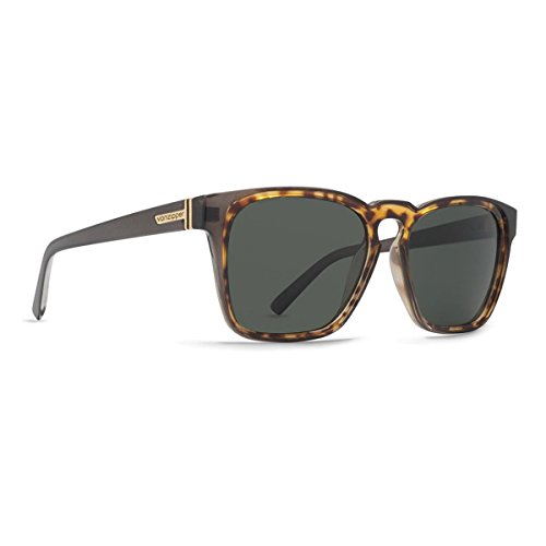VonZipper Mens Levee Sunglasses, Gray-Tortoise w/ Lens One Size
