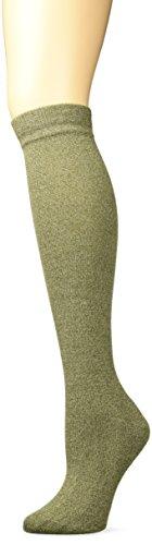Merrell Women's Cushion Knee High Sock, Olive Marl, s/m