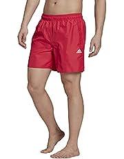 adidas Mens Short Length Solid Swim Shorts