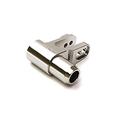 Integy RC Model Hop-ups C28225SILVER Billet Machined Alloy Servo Horn for Traxxas X-Maxx 4X4: Toys & Games