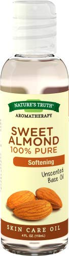 Nature's Truth 100% Pure Unscented Base Oil Sweet Almond (Pack of 36)