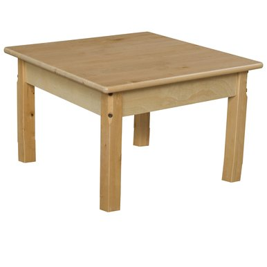 "Wood Designs WD83726C6 - Mobile 36"" Square Hardwood Table..."