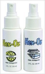 Air Freshener HexOn Liquid Concentrate 2 oz Pump Spray Bottle Fresh Linen Scent Qty 12