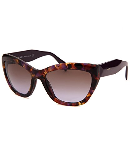 Prada 02QS PDN6P1 Tortoise 02QS Poeme Cats Eyes Sunglasses Lens Category - Eyes Prada Cat