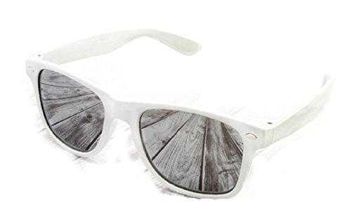 white gafas 4sold nbsp;lente UV400 de New o sun Unisex de sol gafas marca sol espejo 7Y7qOnvHZw