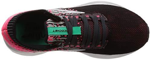 Da black Running Brooks Ricochet Multicolore Donna 678 pink aqua Scarpe EqB7OH