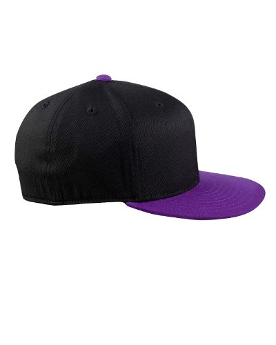 Gorra náutica 210 de Premium Mütze negro 6210 Flexfit Fitted violeta stlye Y8qEA
