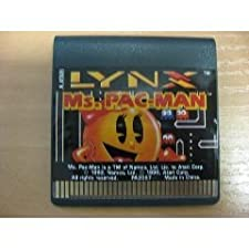 Ms Pac Man Game for the Atari Lynx