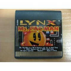 Ms Pac Man Game for the Atari Lynx by Namco (Image #1)
