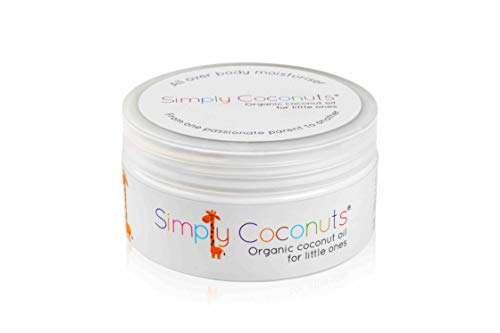 Simply Coconuts Organic Coconut Oil for Little Ones [2 Pack]