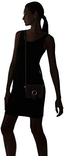 Donne Petite Mendigote Piccole Borse A Tracolla Floyd, Noir (noir (nero)), 3,5 X 13,5 X 17 Cm
