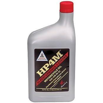 amazoncom honda pro hpm synthetic blend  stroke motor oil    oz automotive