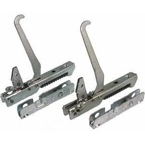 2 bisagras de la puerta del horno Smeg SP71VGL