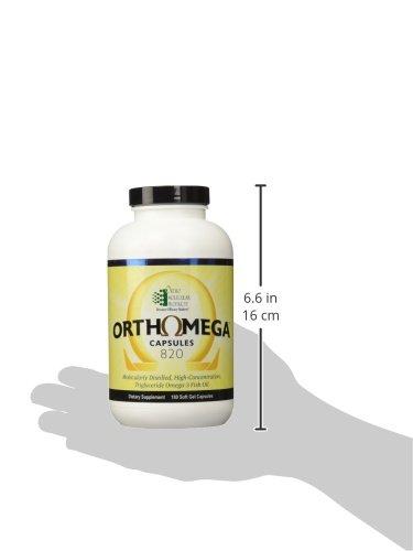 Ortho Molecular - Orthomega 820 - 180 Soft Gel Capsules by Ortho Molecular  (Image #7)