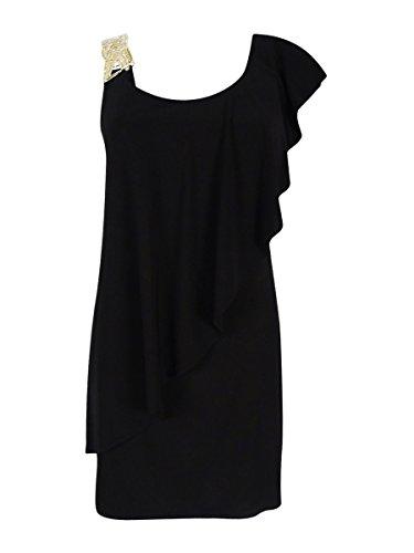 Jeweled Jersey Dress - 4