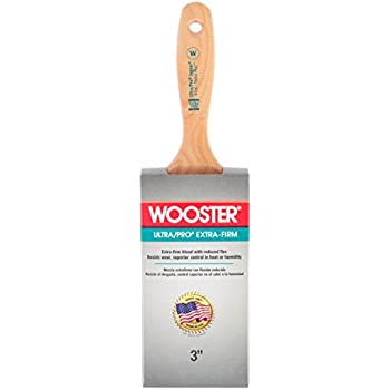 Wooster Brush 4156-3 Ultra//Pro Extra-Firm Jaguar Wall Paintbrush 3-Inch