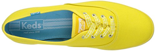 Keds, Donna, Champion Seasonal Solid, Canvas, Sneakers, Giallo