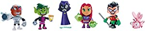 Teen Titans Go! Mini Figure, 6-Pack